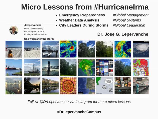 Micro Lesson #HurricaneIrma 2